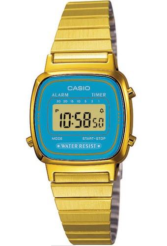 ceas Casio Retro Vintage LA670WGA-2D