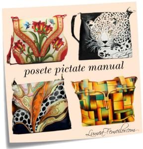 Posete pictate manual – Handmade pentru orice sezon