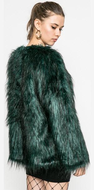 blanita dama scurta culoare verde inchis
