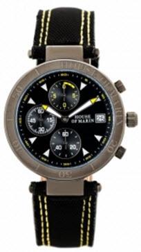 ceasuri originale barbatesti cronograf negru Portofino Yacht Club House of Marin, pentru barbati