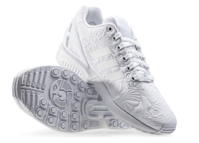 adidasi Adidas Zx Flux W Trainers in White White