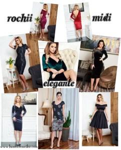Rochii midi elegante online – Care modele sunt stilul tau