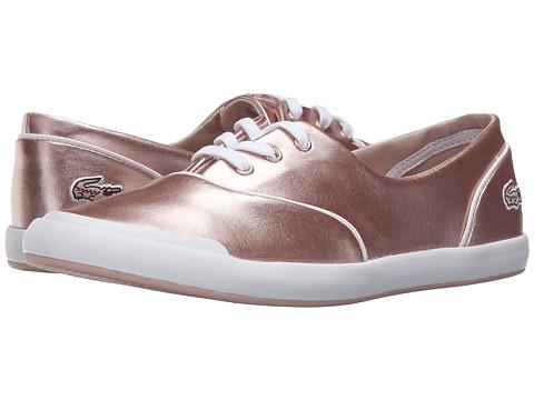 tenisi roz metalic Lacoste