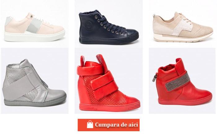 pantofi sport cu platforma de la firme