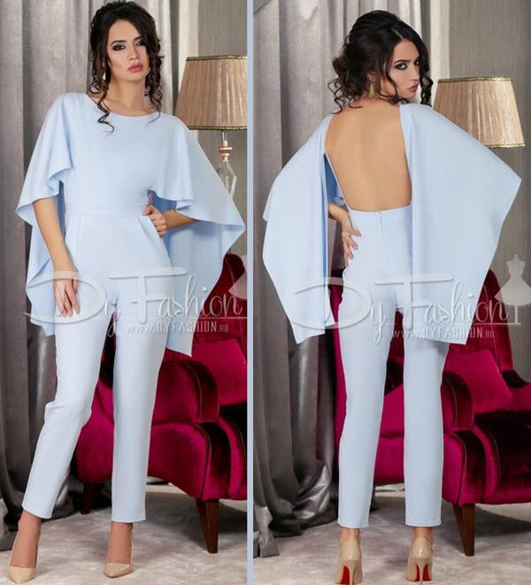 salopete dama elegante ieftine bleu