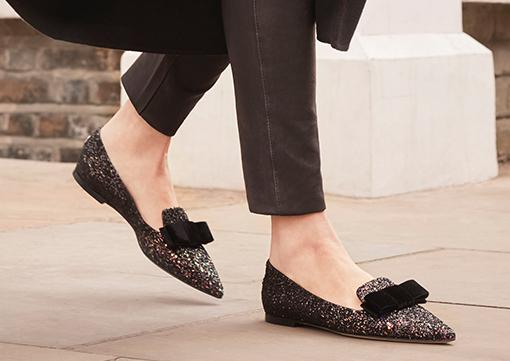 Pantofi dama fara toc eleganti de fima