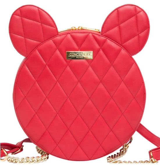 Rucsac OLIVIA Red Mouse