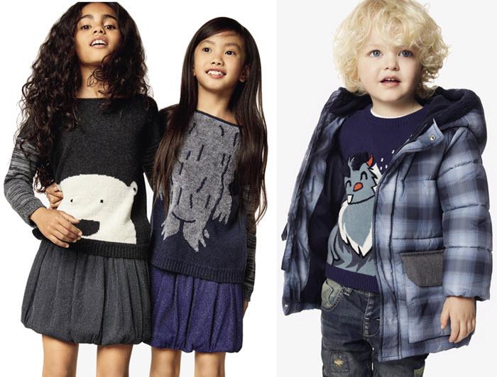 colectia iarna 2017 United Colors o Benetton pentru Copii