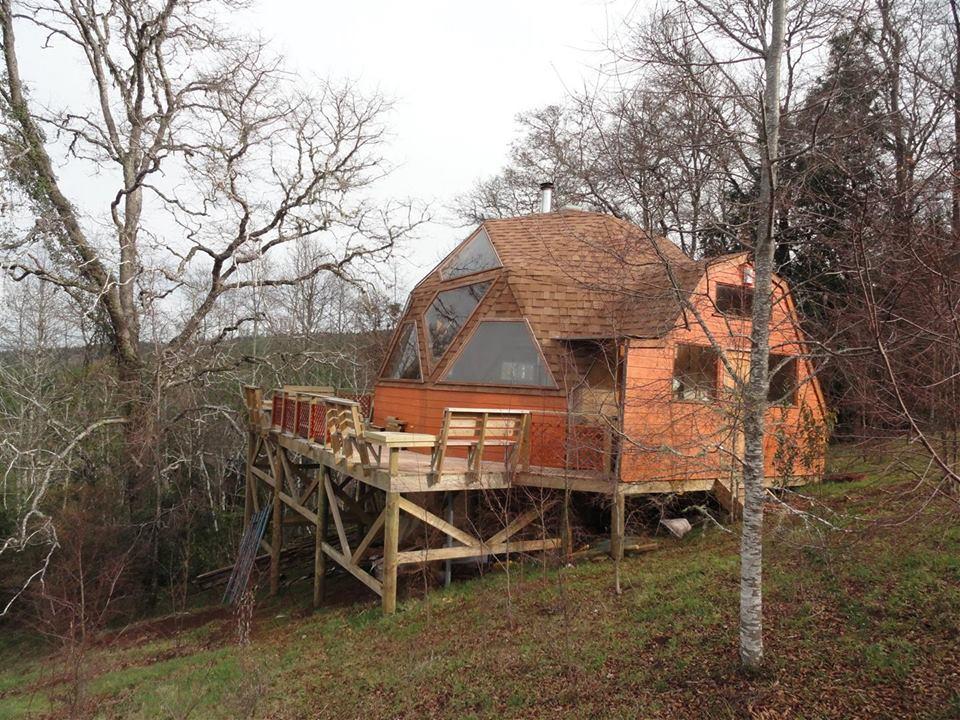 casa dom cu diamteru de 9 m