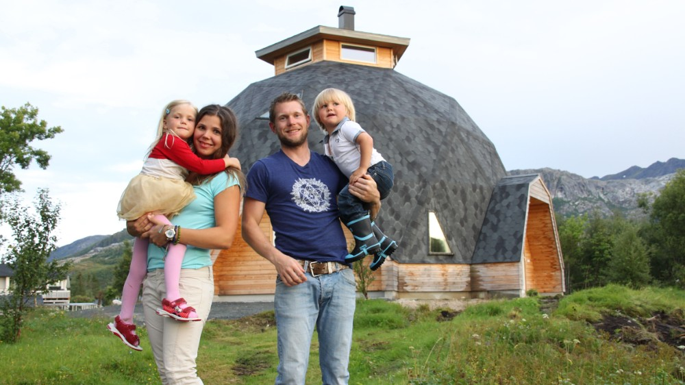 kit casa dom a unei familii din Norvegia