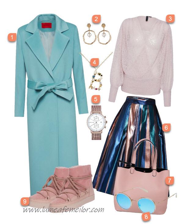 Idei de tinute cu paltoane de iarna - Outfituri de sezon 2020