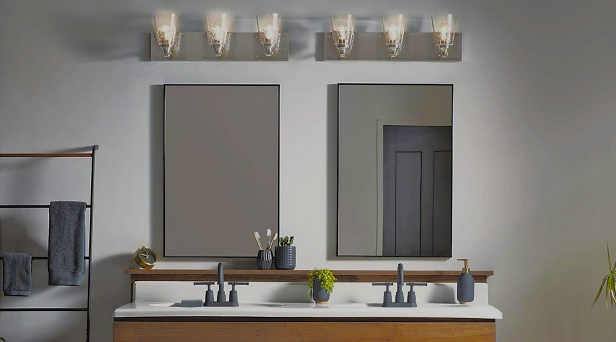 vanity lighting buyer s guide how to