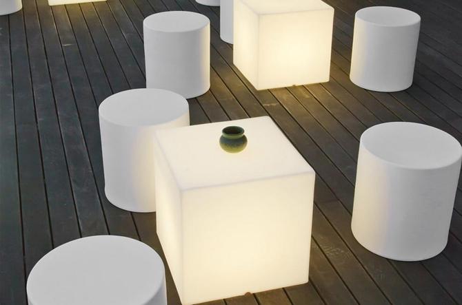 modern portable outdoor lights