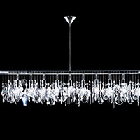 Chandeliers Linear Suspension Crystal