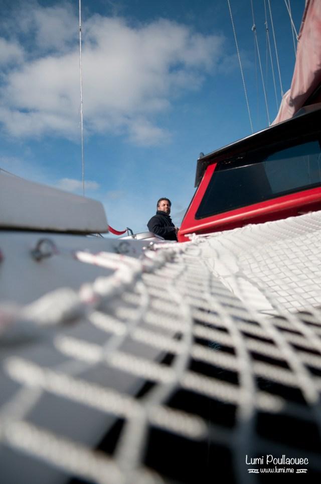 Lac Saimaa - Finlande - navigateur catamaran