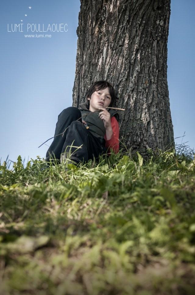 Tomi, Mon neveu autiste - enfant autiste -Photographie - reportage - dans son monde