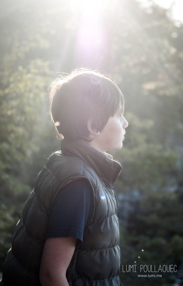 Tomi, Mon neveu autiste - enfant autiste -Photographie - reportage - nature