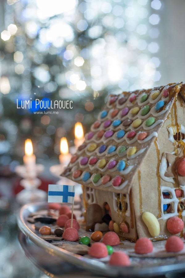 maison pain épices piparkakkutalo pâtisserie finlande suomi