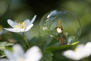 Seul dans sa bulle...