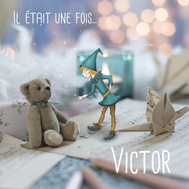 faire part de naissance lutin pour mon album photo ourson féérique garçon origami