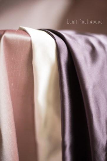 Les tissus en soie des Petites Robes - 1