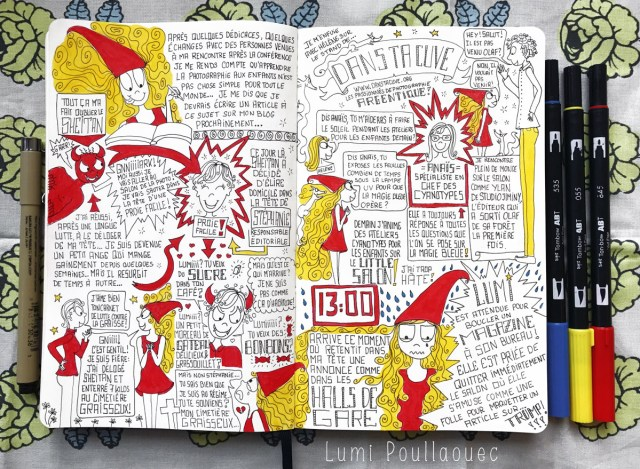sketchnote salon photo storytelling journal intime moleskine