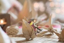 Lutins sur origamis oiseau lumi poullaouec dessin photographie
