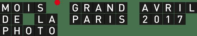 logo du mois de la photo du grand paris Avril 2017
