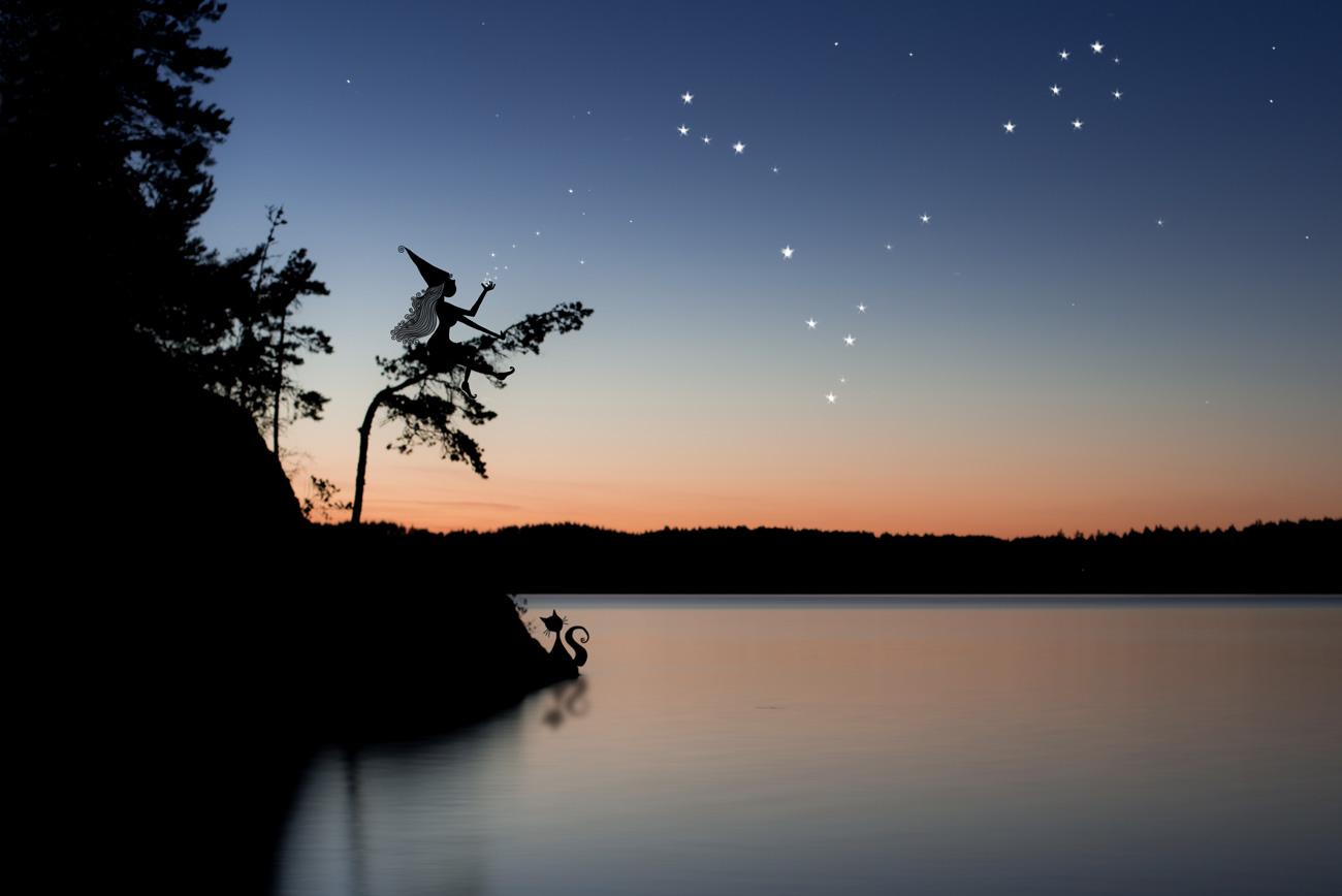 La constellation du poisson - Lumi Poullaouec - Création - Photographie et illustration féérique