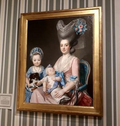 Madame de Privat et ses filles 1780-1781