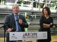 Sylvie Facon et le maire