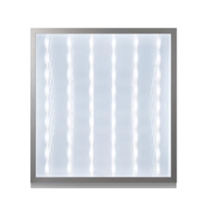 Dalle Carre LED Prismatique Plafond Encastrable LED 60*60cm – 60W Lumiere Blanche (6500k)