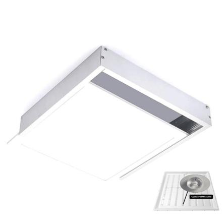 Dalle carré LED QH 60*60cm – 48W – Apparent Lumiere Blanche (6500k)