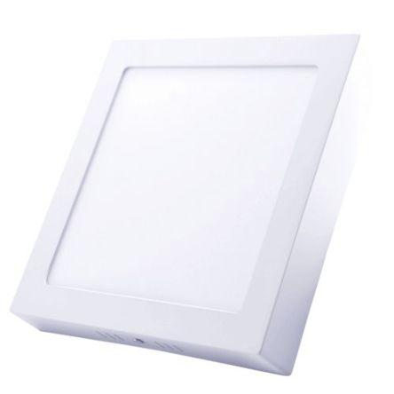 Spot LED Apparent 18W Carré lumière blanche (6500k)