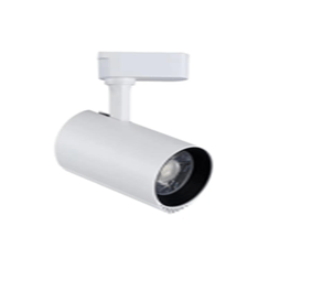 Projecteur LED Sur Rail Blanc 10W Lumière Naturelle (4000k)