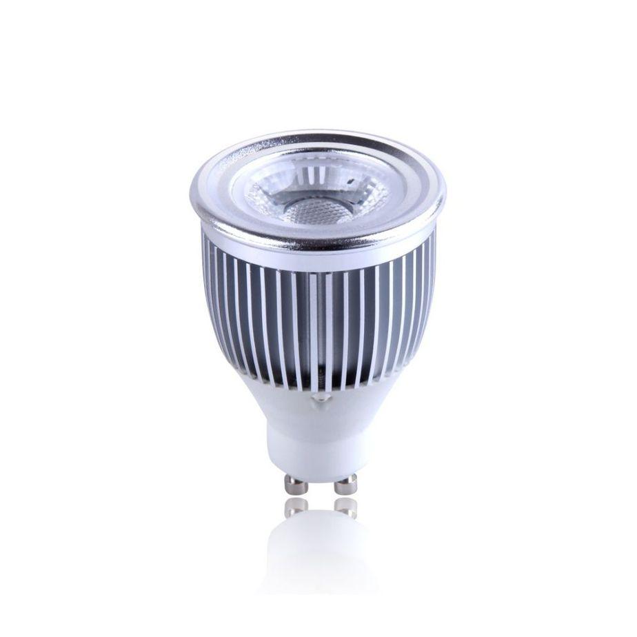 Ampoule Au DEL LEDGU10COB6W-NW-DIM