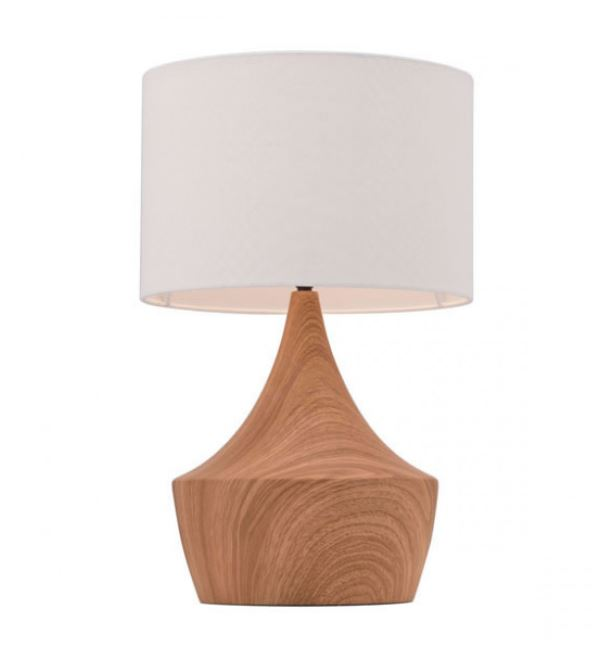 Lampe De Table 19″H Bois 56073