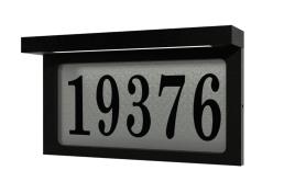 Plaque Adresse Snoc Éclairé 1718