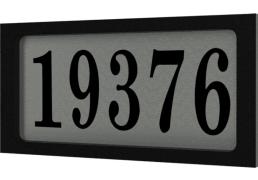 Plaque Adresse Snoc 1732