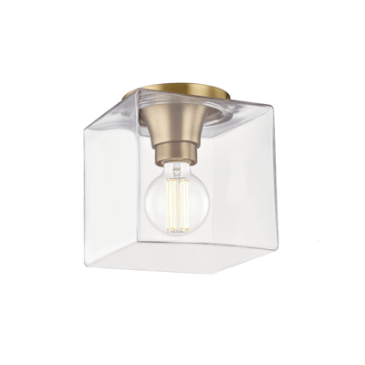 LUMINAIRE PLAFONNIER, COLLECTION GRACE, SERIE-HUDSON VALLEY, H284501SQS-AGB