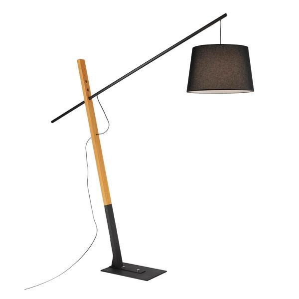 lampadaire design neuhaus kati noir metal 526 18