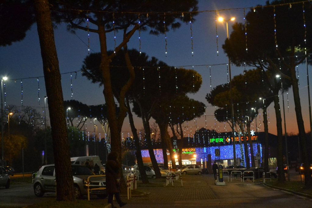 (Foto 15 -14) Piogge a led con strobi (visiona video)