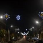 (Foto 16 -44) Corso con sfere e stelle bianco + b. caldo 6.00 x 1.20