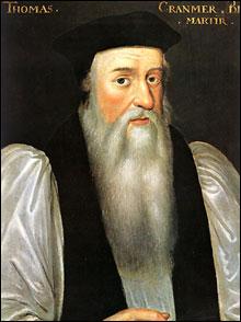 Portrait of Archbishop Thomas Cranmer