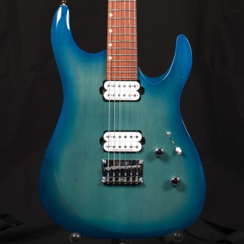 Stroker Green-Blue Burst Basswood