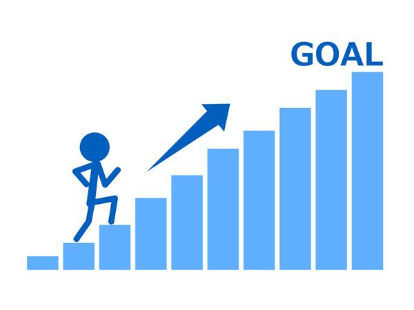 仕事と貯金=目標
