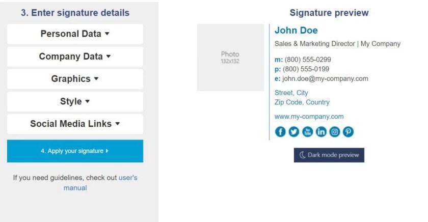 Mail Signatures , Mail Signatures  tools, free email signature tools, free email signature generator, best email signature generator
