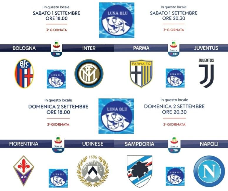 Calcio Live al Luna Blu 1 e 2 settembre   Anche il Parma :-)