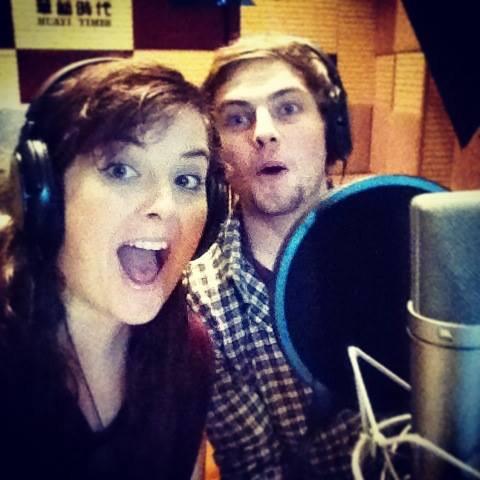 English and Irish voice recording