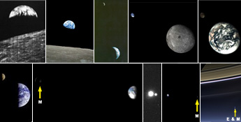Earth Moon Images